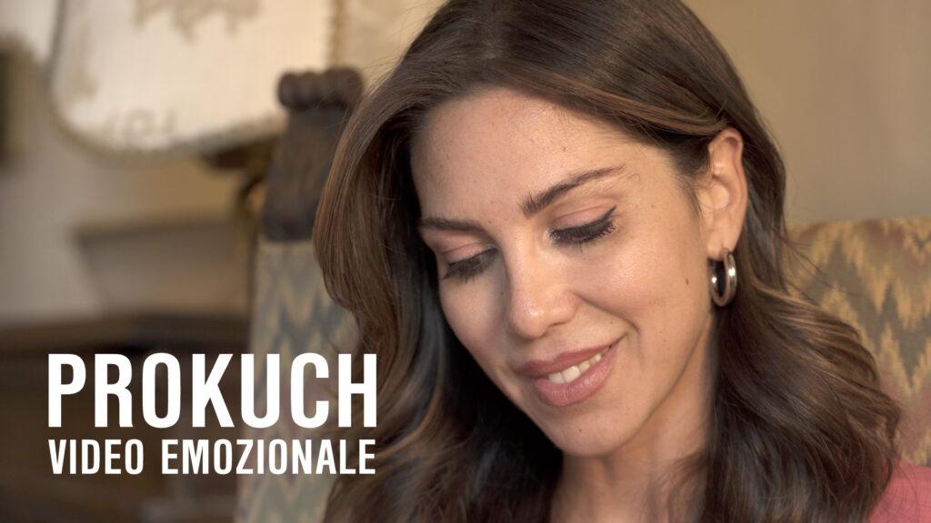 Primo piano Eleonora Pieroni copertina ProKuch video emozionale