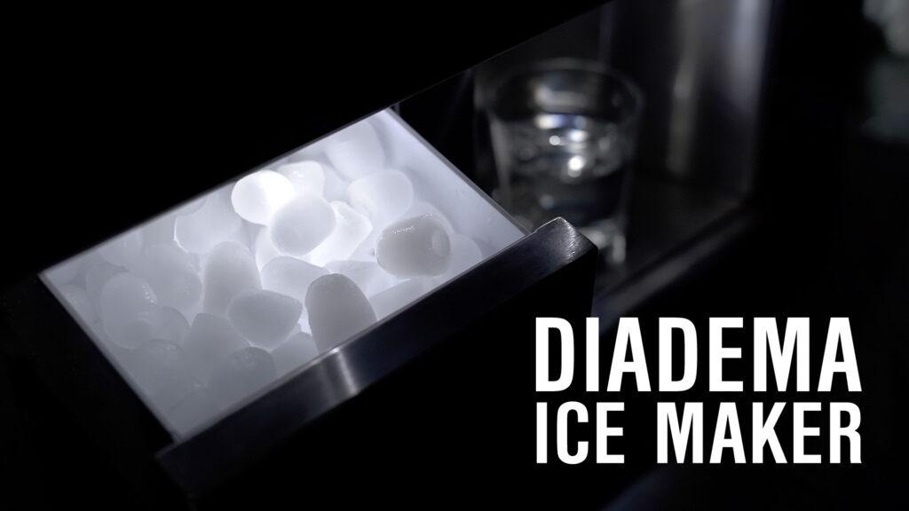 Icona per video aziendale di prodotto Diadema Ice Maker